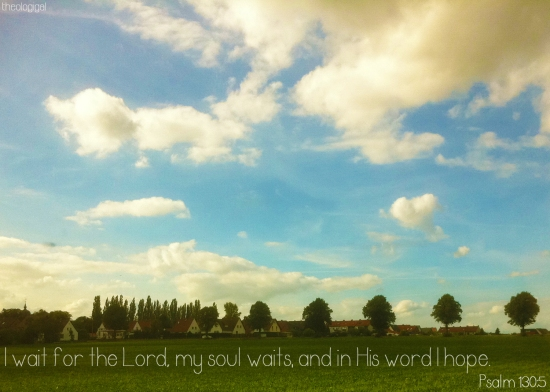 Bible Verses About Waiting Bible Verse Psalm 130 i Wait